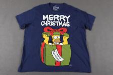 The Simpsons - Christmas - Homer Simpson - Mens - T-Shirt - Size XXL