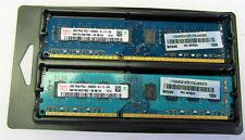 Hynix 2x 4gb | DDR3 | PC3-10600 | 1333MHz | NON-ECC | Desktop Memory Modules