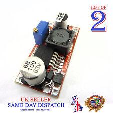 2x DC-DC LM2596HV 4.5-56V Converter Adjustable Buck Power Supply Module