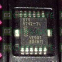 7PCS BTS5242-2L Encapsulation:SOP-12,Smart High-Side Power Switch