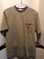 Brooks Brothers Black Classic Fit Golden Fleece Crewneck T-Shirt Large L 3344-3