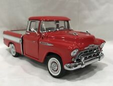 Danbury Mint  1957 Chevrolet Cameo Pickup truck   1/24 scale used no box