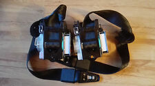 Audi A4 8K B8 2008-2015 FRONT SEAT BELTS (PAIR) WITH PRETENSIONER ORIGINAL NEW