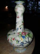 Vintage S Hancock & Sons Royal Corona Ware  Rosetta Chintz Vase no 5342