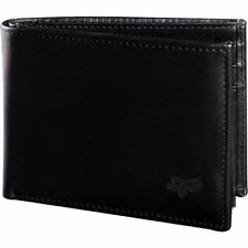 Fox Racing Men's Bifold Leather Wallet-One Size