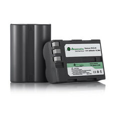 2x Battery For Nikon EN-EL3E ENEL3E Battery D100 D200 D300 D50 D70 D700 D80 D90