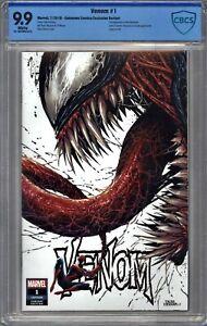 Venom #1 CBCS 9.9 Kirkham TRADE Variant Cover NOT CGC * New Case * NOT 9.8