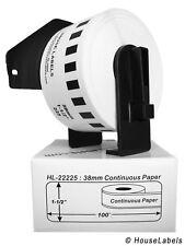 9 Rolls of DK-2225 Brother-Compatible Labels with 1 Reusable Cartridge