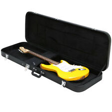 Universal Electric Guitar Hard Shell Case w/ Silver Hardware and Lock