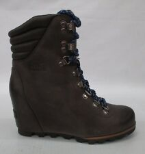 Sorel Womens Conquest Wedge Boots 1691961 Kettle/Aviation Size 10