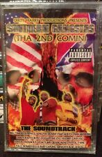 Southern Gangstas- The 2nd Comin' Cassette *SEALED* Texas & Memphis Rap Tape OOP