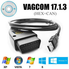 Auto Diagnostic USB Cable VAG-COM 17.1.3 HEX + CAN OBD2 OBDII VW/Audi/Seat/Skoda