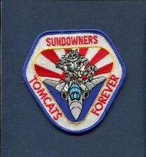 VF-111 SUNDOWNERS US NAVY GRUMMAN F-14 TOMCAT  Forever Fighter Squadron Patch