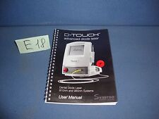 D-TOUCH ADVANCED DIODE LASER USER MANUAL SYNERON 810nm,980nm systems