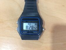 Casio Unisex Collection Digital Watch with Resin Strap F-91W-1YER