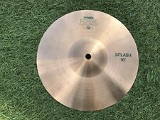 """Paiste 505 10"""" Splash Cymbal Excellent Condition Vintage Highly Collectible"""