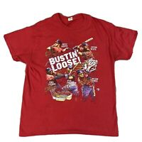 Washington Nationals T-Shirt Bryce Harper Zimmerman Bustin Loose Men's Large
