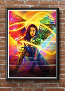 WONDER WOMAN 1984 - GLOSSY A4 Movie Poster Print Wall Art Prints DC Comic Film