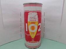 BREW 102 DRAUGHT FLAVOR 16oz FLAT TOP BEER CAN #225-31 MAIER LA., CA