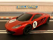 Scalextric Mclaren MP4-12c No1 Fully Serviced & New Braids Fitted
