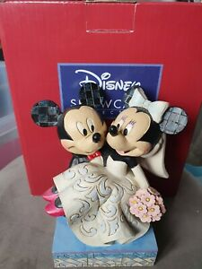 Very Rare Disney Traditions Showcase Collection - Mickey And Minnie Wedding