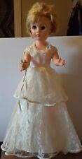 "1950's Bride doll 19"" Tall"