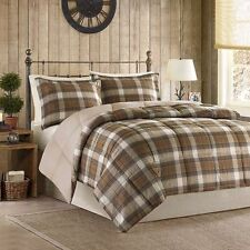 plaid comforters and bedding sets | ebay