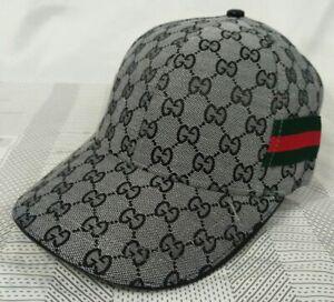 New GG1 Unisex Hat Golf Cap Sport Baseball Outdoor Adjustable Gray Hat
