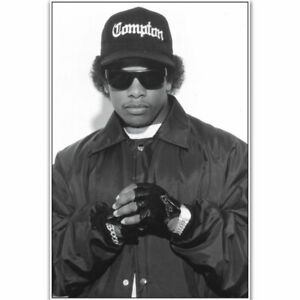 Eazy E NWA Rapper Hip Hop Music Singer Star Hot Poster K-1095
