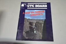 CTC Board magazine train railroad February 1988 Day in North America