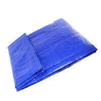 3.45 X 5.3M Blue Tarpaulin Ground Sheet Cover Canvas Waterproof tarp