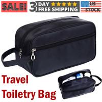 Travel Toiletry Bag Dopp Kit Portable Handy Cosmetics Makeup Shaving Organizer