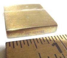 Continental Lighter Vintage Small Brass