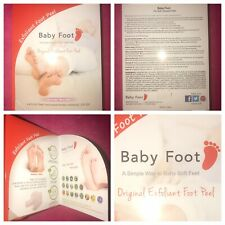 NEW! Baby Foot Lavender Exfoliant Peel 17 Natural Extracts- Soft Smooth Moisture