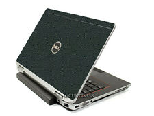 LEATHER Vinyl Lid Skin Cover Decal fits Dell Latitude E6520 E6530 Laptop