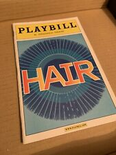 HAIR Revival 2009 Broadway Playbill
