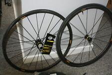 Mavic Ksyrium Pro Carbon SL T Tubular Road Wheels with tyres. UNUSED