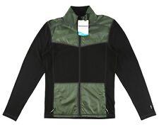 Smartwool 250 Sport Merino Wool Zip Men's Olive Jacket Sz XL 1002