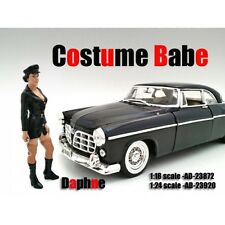 COSTUME BABE DAPHNE FIGURE FOR 1:24 SCALE MODELS BY AMERICAN DIORAMA 23920