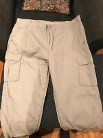 Fleece Lined Insulated Cargo Pant Smith's WorkWear Khaki Men 48x30 NWT Fast Ship