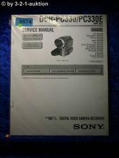 Sony Service Manual DCR PC330 /PC330E Level 1 Digital Video Camera (#5674)