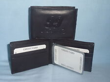 Carl Edwards #99  NASCAR   Leather BiFold Wallet   NEW  dark brown 3s