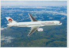 Ansichtskarte Postkarte Flugzeug America West Airlines Boeing 757-200