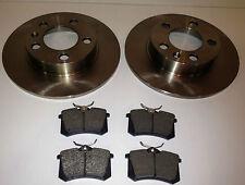 VW GOLF MK4 1.4,1.6,1.8,1.9, 2.0, 2.3 REAR BRAKE DISCS PADS 97-04