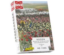 Busch 1205 Pack of 120 Roses OO/HO Gauge Kit