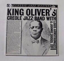 KING OLIVER With Louis Armstrong & Johnny Dodds LP CJM-88502 Neth 1983 SEALED 3A