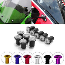 M6 Windscreen Windshield Rubber Well Nut Washer Bolt Fit BMW G310GS R1200GS