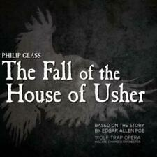 Glass: The Fall Of The House Of Usher by Wolf Trap Opera [CD]
