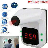 School Office Wall-Mounted Non-Contact Forehead IR Thermometer Digital Automatic