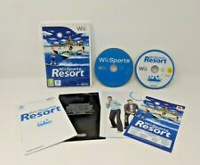 European Nintendo Video game Lot - 2 Games: Wii Sports Resort + Wii Sports [PAL]